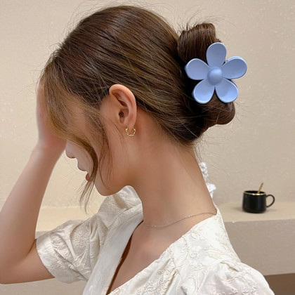 花抓夹发夹