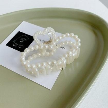 珍珠抓夹发夹